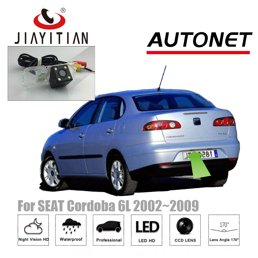 JIAYITIAN Rear View camera for Seat Cordoba 6K 6L Alhambra Ibiza 6L 6J Exeo Toledo/CCD/Night Vision/license plate camera