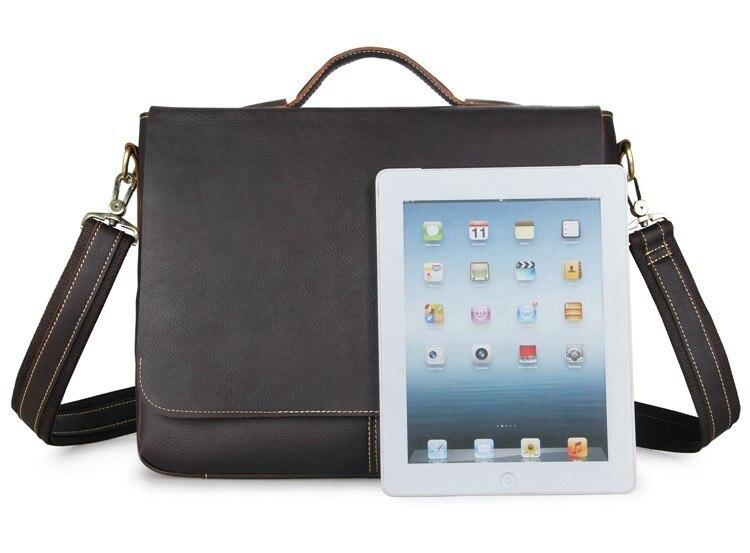 JMD Vintage Leather Men's Briefcase Laptop Bag Messenger Handbag Hot Selling Handbag Briefcase Bag For Men 7108Q-1