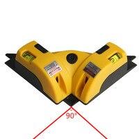 90 Degree Laser Level Vertical Horizontal Laser Line Projection Square Level Measuring Tools