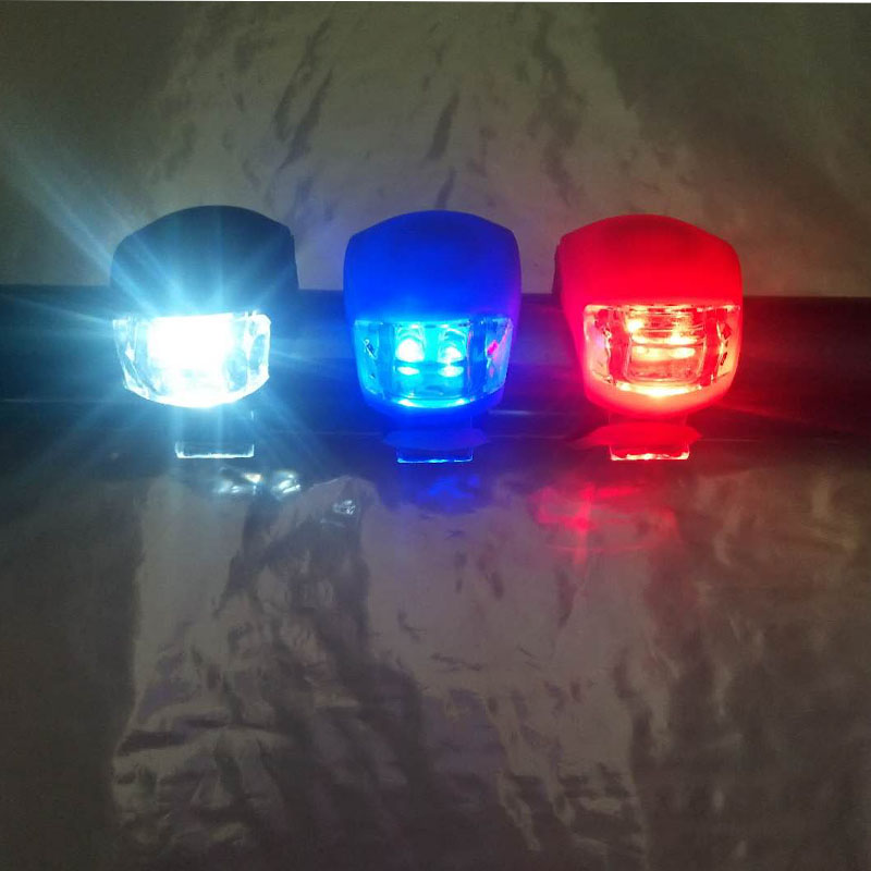 Bicycle Front Light LED Bike Lights Safety Bicycle Head Front Rear Wheel Bike Light Cycling Flashlight For Cycling Accessories