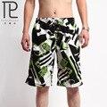 2015 ocasional respirável praia board shorts troncos calções de praia cintura elástica shorts soltos S7
