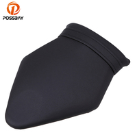 POSSBAY Motorcycle Leather Cushion Rear Seat for BMW S1000 2009 2014 Scooter Sear Covers Accessories Motorcycle Rear Seat Pad
