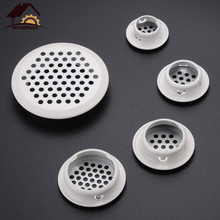 Ventilation-Cover Vents Cabinet Myhomera 6pcs Wardrobe Louver Mesh-Hole Stainless-Steel
