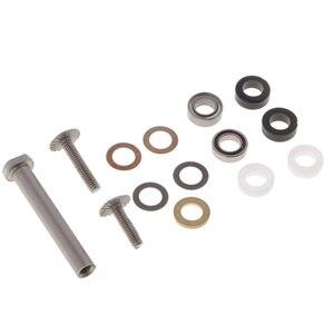 1 Set Fishing Reel Handle Screws Set Accessories Stainless Reels Handle Knob Bearing Components Washers for Reel Repair DIY(China)