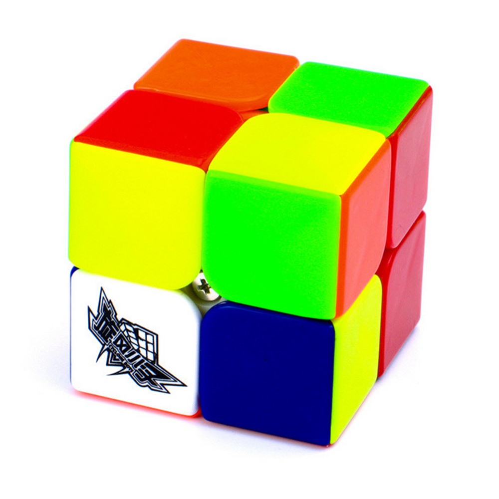 Cyclone Boys 50mm 2 Layers Cube Puzzle Toy Magic Cube 2x2x2 Profissional Match Cube Toy Children Educational Gift Toy Biginner