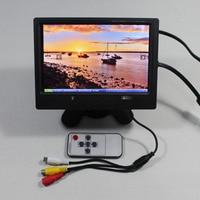 7inch Lcd monitor 1280*800 with HDMI+VGA+2AV+Reversing+Europe Power supply for bus monitor VS T0702ERB V1