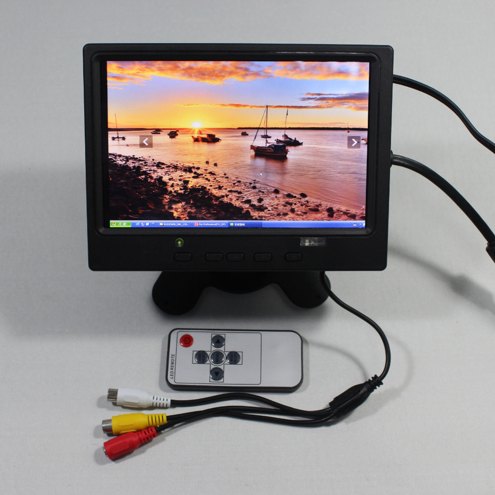 7inch Lcd monitor 1280*800 with HDMI+VGA+2AV+Reversing+Europe Power supply for bus monitor VS-T0702ERB-V17inch Lcd monitor 1280*800 with HDMI+VGA+2AV+Reversing+Europe Power supply for bus monitor VS-T0702ERB-V1