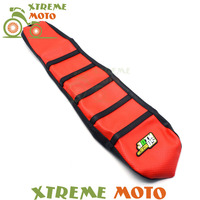 Red Gripper Soft Seat Cover For Suzuki RM85 RM 85 02 16 Motorcycle Motocross Supermoto Dirt Bike Off Road Enduro