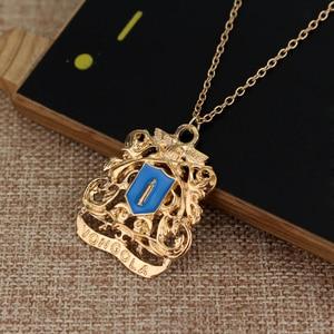 Hot Anime Katekyo Hitman Reborn Metal Necklace Vongola Famiglia Logo Pendant Cosplay Accessories Jewelry maxi statement(China)