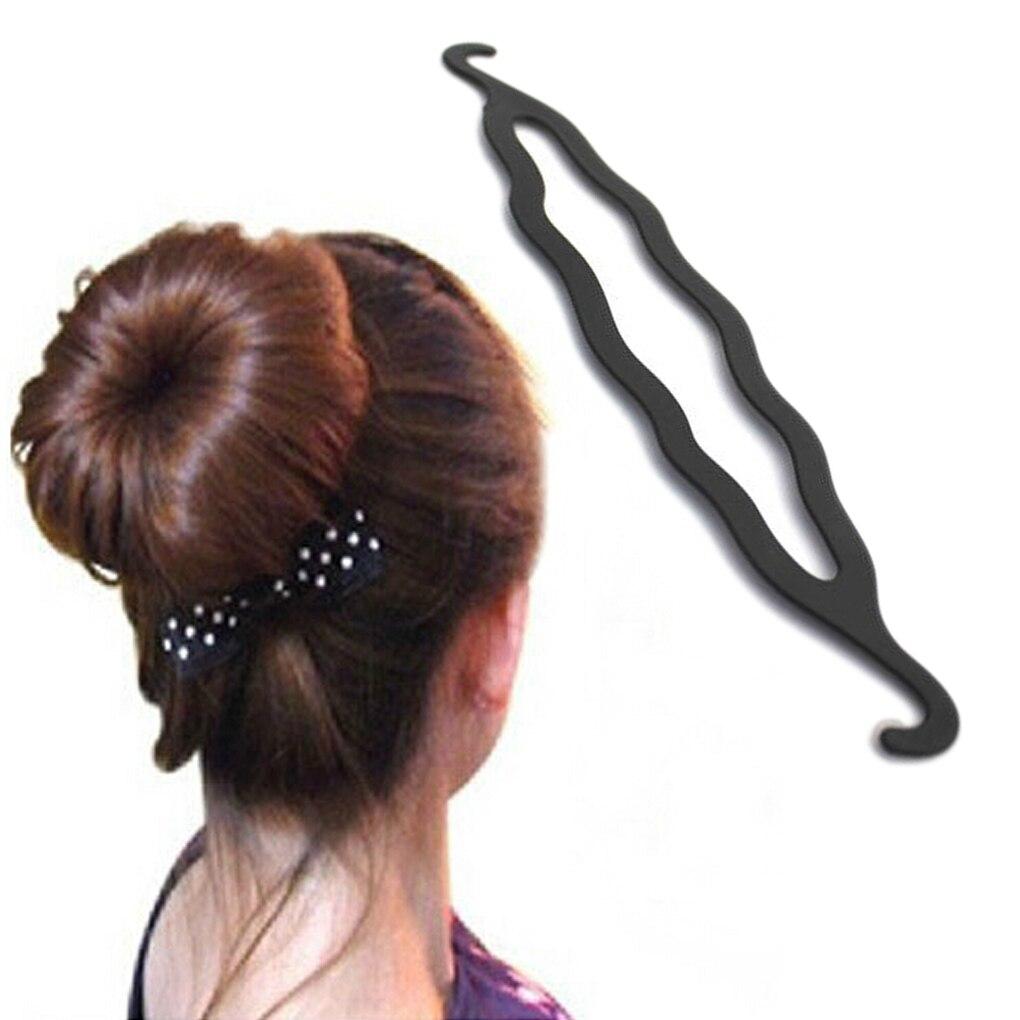 2019 New Women Magic Hair Twist Styling Clip Stick Bun Maker Braid Tool