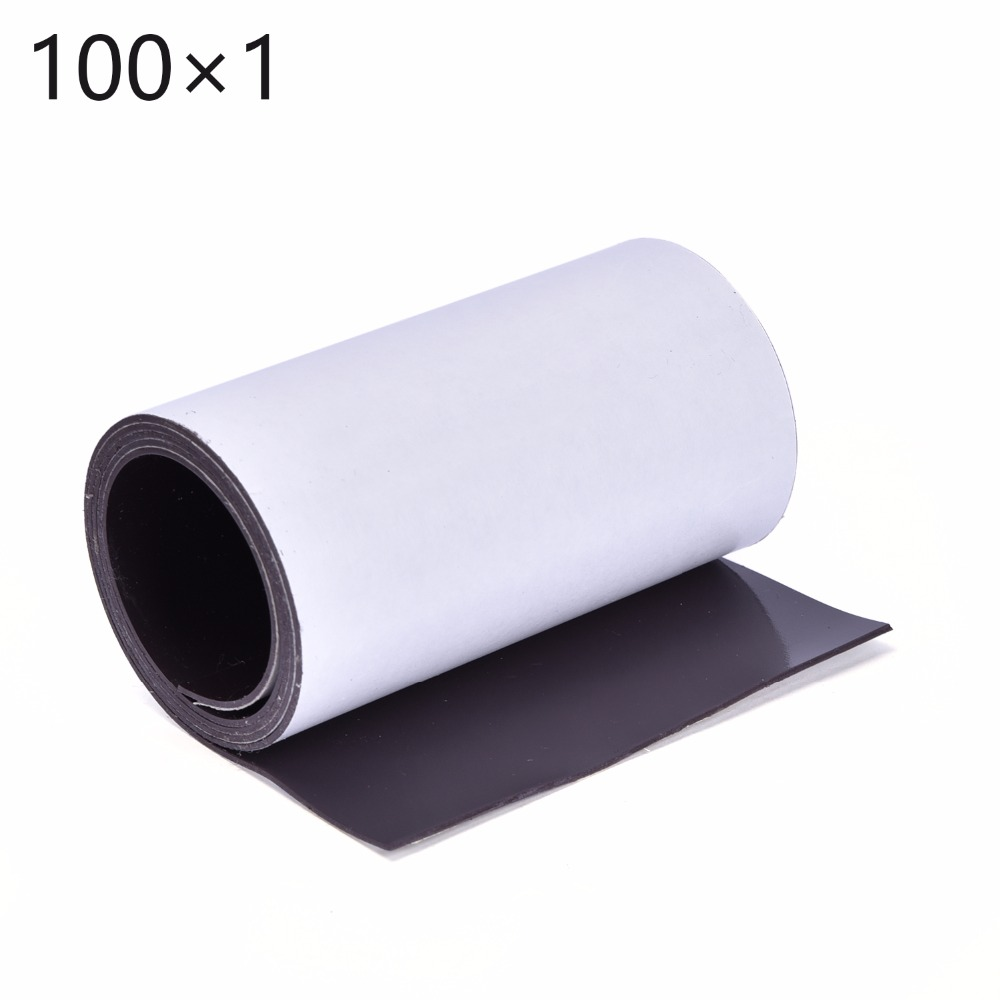 Free shipping brand new hot sales new soft 1 meter premium self adhesive magnetic strip tape magnet 100x1mm magnetic stripFree shipping brand new hot sales new soft 1 meter premium self adhesive magnetic strip tape magnet 100x1mm magnetic strip