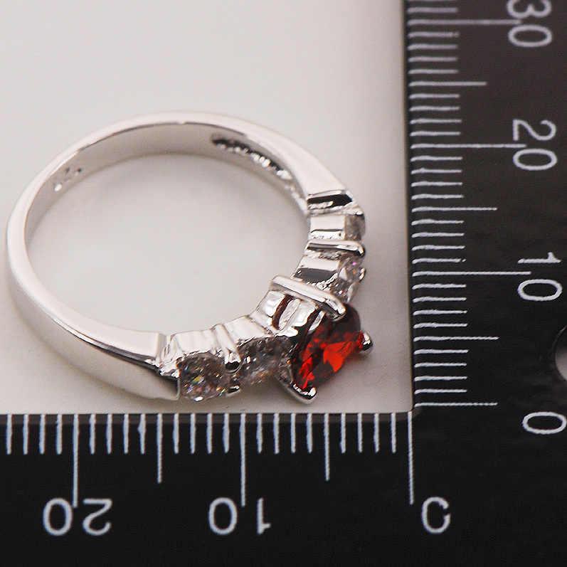 โกเมนแฟชั่น925แหวนเงินขนาด5 6 7 8 9 F667แฟชั่นขายส่งจัดส่งฟรี