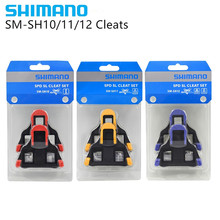 Shimano Spd Sl Grampo Set Sm Sh10 Sh11 Sh12 Bicycle Set Self -lock Float Pedal Plate Pedals Deceive(China)