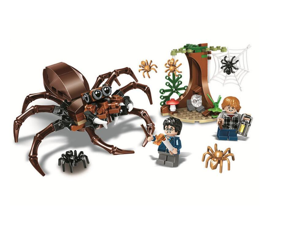 169 Pcs Harry Potter Moc Series Aragog's Lair Ron Weasley