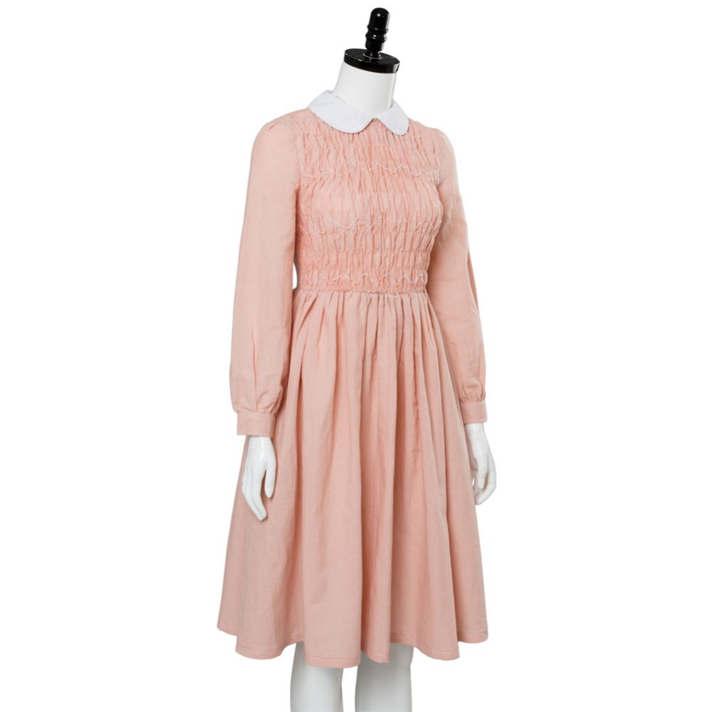 7935d076a54f Stranger Things Cosplay Eleven Millie Bobby Brown Cosplay Costume Dress  Adult Millie Bobby Brown Costume Halloween Carnival-in Anime Costumes from  Novelty ...