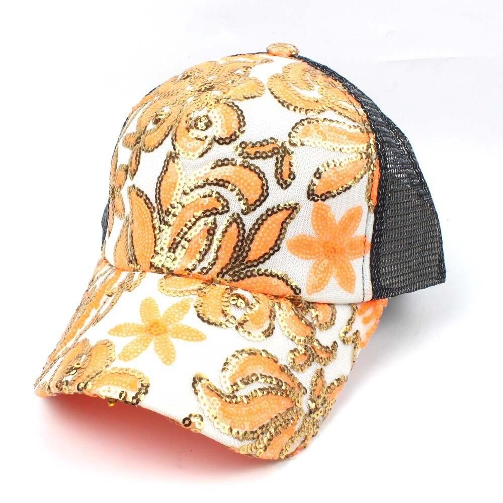 Frauen Sommer Floral Diamant Baseball Cap Snapback Caps Hip Hop Hüte Lebendige Hut Gorras Para Hombre Einstellbare Sport Hüte Dad Hut Halten Sie Die Ganze Zeit Fit Bekleidung Zubehör