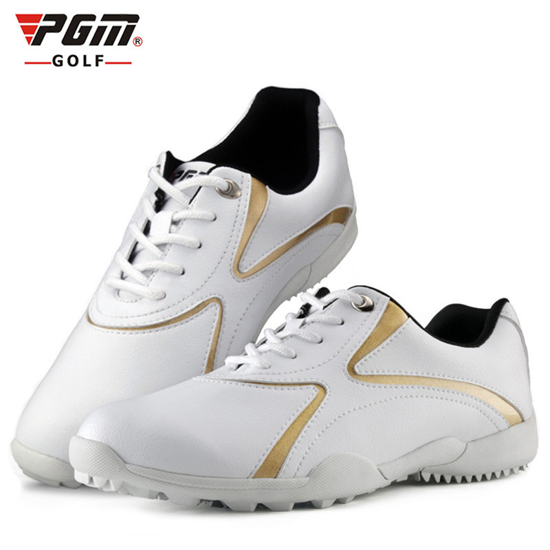 PGM Women New Design Professional Outdoor Sports Shoes Golf Shoes Waterproof Anti-skid Adult Lightweight Breathable Golf Shoes brand pgm adult mens golf sports shoes anti sideslip technology and waterproof and breathable and light weight golf sneakers