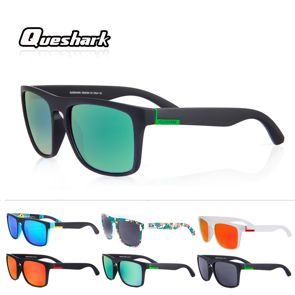 Queshark Cycling-Glasses Eyewear Bicycle Sport Polarized MTB Driving Professional