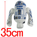 Anime Star Wars R2D2 Plush Wholesales Toys Printing stuffed toy robot plush dolls European and American Movie Toy 30cm for kids