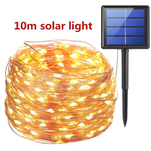 10m solar string