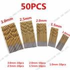 50Pcs/Set Twist Dril...