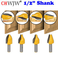 4 Bit Vertical Raised Panel Router Bit Set 1 2 Shank Chwjw 12404