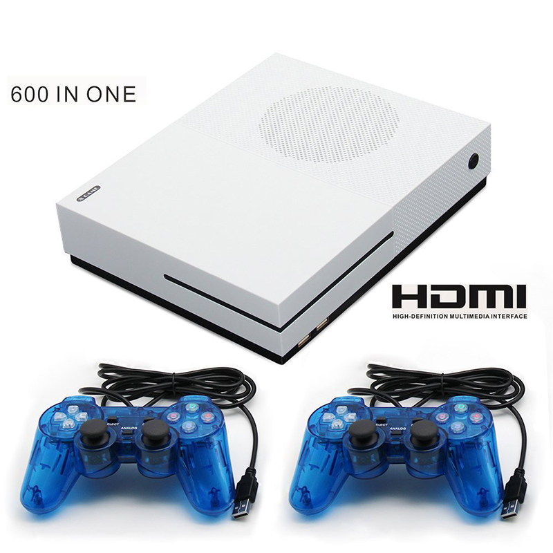 HD TV Game Consoles Built-in 600 Different 4GB Video Game Console HDMI TV Out Classic Games For GBA/SNES/SMD/NES Game недорго, оригинальная цена
