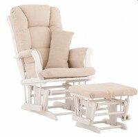 Питомник рокер и планеры древесины Османской кресло качалка с мягкими Подушки Мебель для гостиной современные кресла качалки для детской