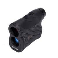 Handheld Monocular Laser Rangefinder 6X Magnification Telescope 600M 900M 1200M 1500M Fog Laser Distance Meter Hunting
