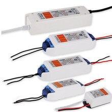 Dc12v 18w 36 72 100 transformadores de iluminação alta qualidade led driver para led strip fonte alimentação