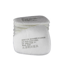 10PCS 6200 Dust Masks Paint Special Protective Mask Anti – dust Dust Filter Cotton High-quality Raw Materials