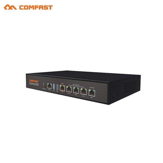 2018 Comfast gigabit AC gateway routing 4 ports POE power supply ...