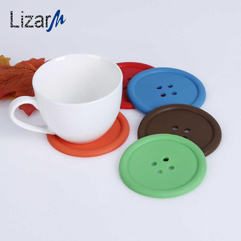 Cup Coaster Set Individual Placemat Stand Hot Drink Mug Coasters
