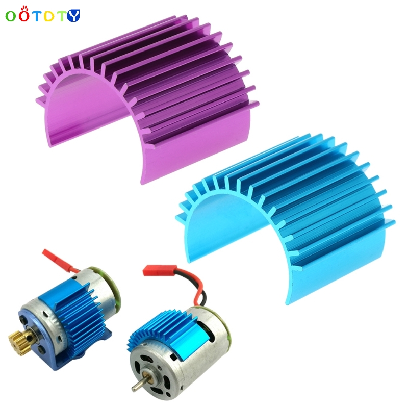 Aluminum Heatsink Suit With 370 380 Motor For 1:18 On/Off Buggy Car Toy