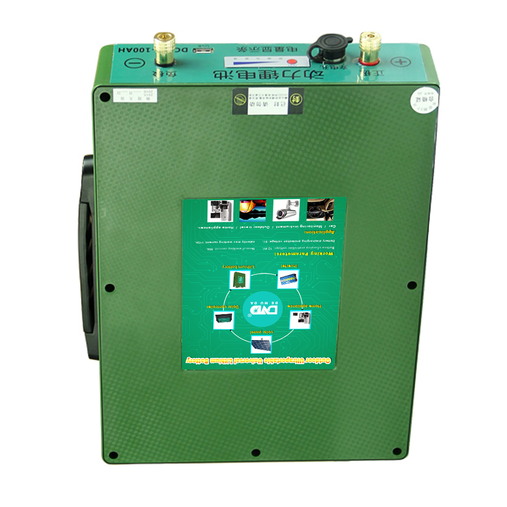 big promotion Long Cycle Life 18650 rechargeable lithium-ion 12v 60ah battery