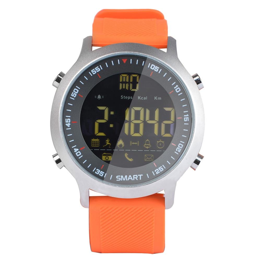 Smartwatch EX18 montre intelligente 5ATM étanche BT4.0 moniteur de fréquence cardiaque Bracelet intelligent surveillance sport Fitness Tracker pour Android iOS