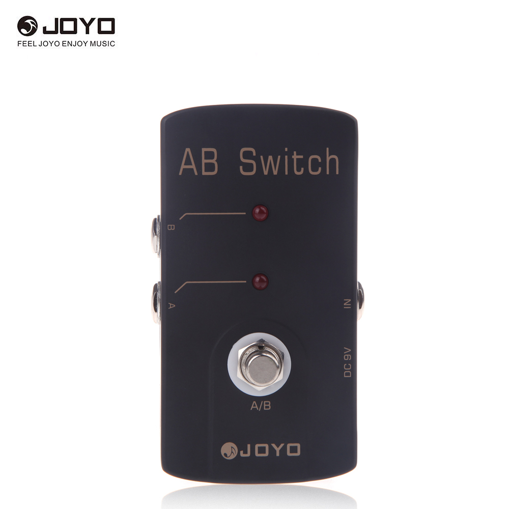 joyo jf 30 ab switch electric guitar effect pedal true bypass for guitar a b switch guitar. Black Bedroom Furniture Sets. Home Design Ideas