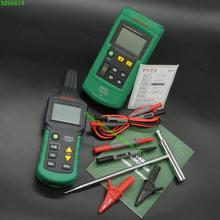 Mastech MS6818 Cable Rastreador Tubulação do Metal Locator Detector Portátil Tester Linha Rastreador Voltage12 ~ 400 V RECEPTOR de CABO LOCALIZADOR