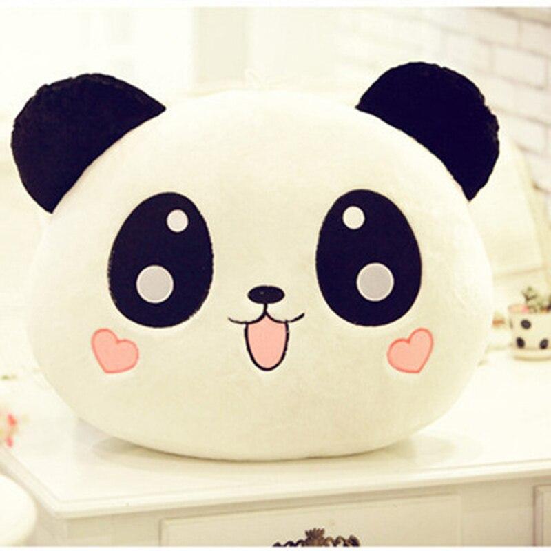 40cm panda pillow plush toys kawaii panda plush toys soft stuffed animal pillow dolls cute animal doll children birthday gift