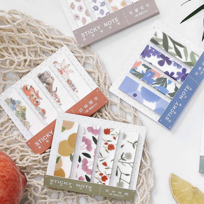 Garden 1Pcs \ DIY Cute Creative Fun Convenience Tape Magazine  Diary Calendar Scrapbook Student Stationery Office Supplies Tape