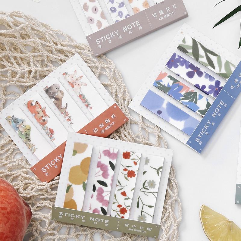 Garden 1Pcs \ DIY Cute Creative Fun Convenience Tape Magazine  Diary Calendar Scrapbook Student Stationery Office Supplies Tape