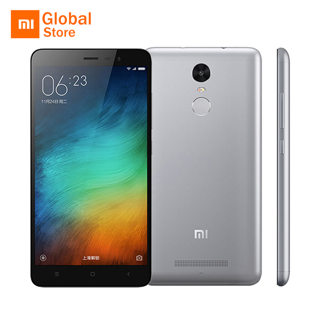 Original Xiaomi Redmi Note 3 Pro Prime Special Edition International Version Mobile Phone Snapdragon 650 32GB ROM Fingerprint ID