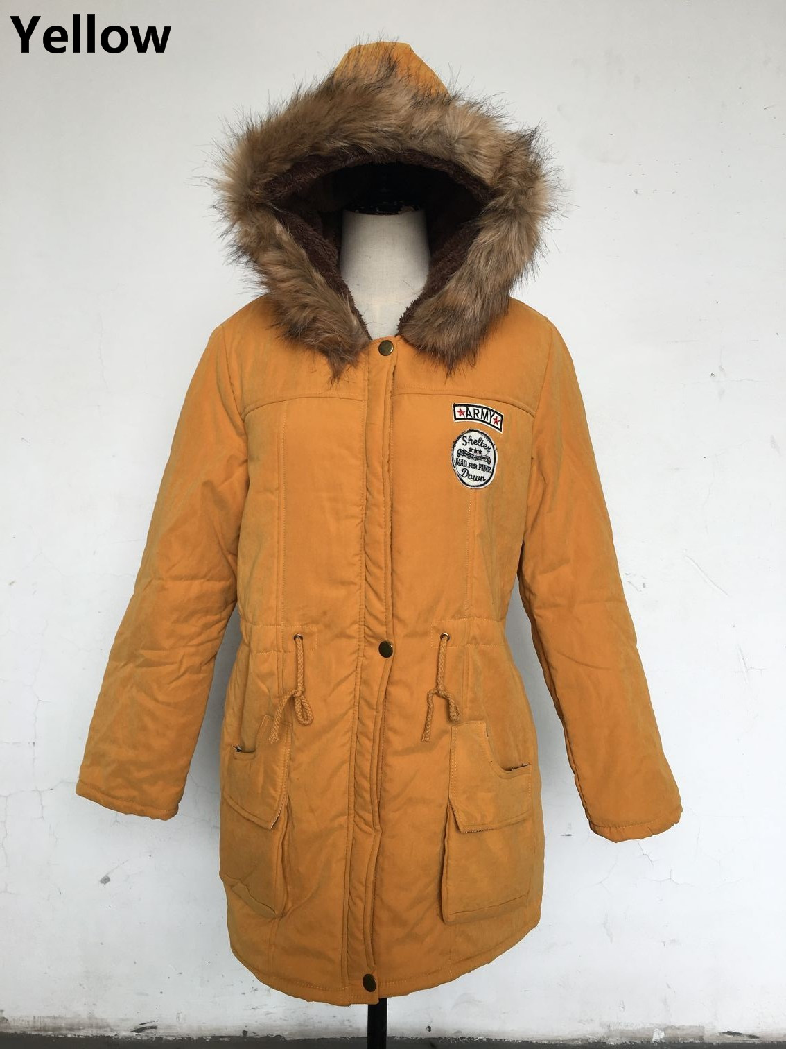 HTB15cnTgcyYBuNkSnfoq6AWgVXaG Women Parka Fashion Autumn Winter Warm Jackets Women Fur Collar Coats Long Parkas Hoodies Office Lady Cotton Plus Size
