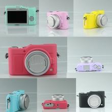 Хороший мягкий силиконовый резиновая Камера защитный Средства ухода за кожей чехол кожи Камера сумка для Panasonic GF9 GF9 кожа Камера сумка