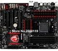 100% de trabalho desktop motherboard para msi 970 jogos am3 + ddr3 placa de sistema totalmente testado