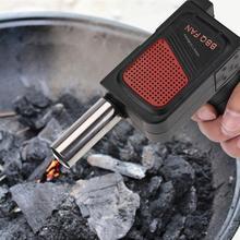 Стиль, вентилятор для барбекю, воздуходувка для кемпинга, пикника, гриля, барбекю, инструмент для приготовления пищи, высокое качество, аксессуары для барбекю