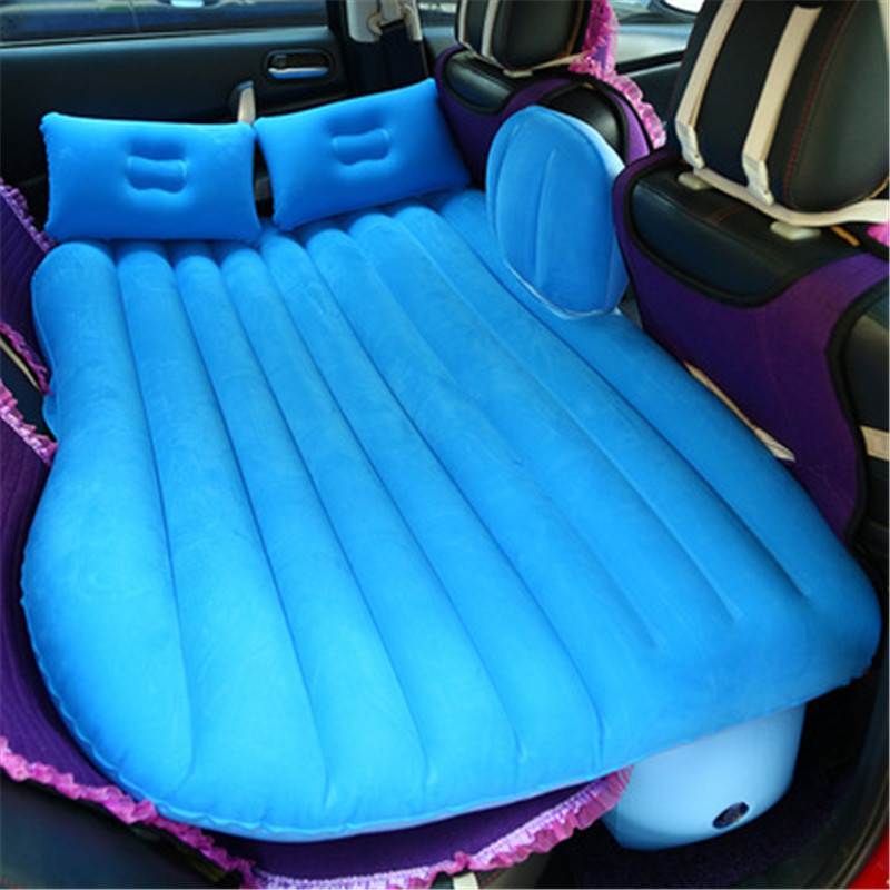 Universal Air Inflatable Mattress Back Seat Car Travel Bed Outdoor MultiFunctional Camping Mat Mattress Cushion with