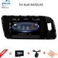 Auto Multimídia DVD Player Do Carro para Audi A4 A5 Q5 2009-2015 com Mapa de Navegação GPS TV BT USB SD AUX de Áudio e Vídeo Estéreo Livre mapas