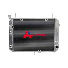 SALE 2 Row 32mm PRO ALL Aluminum Radiator for Yamaha FJR1300 FJR 1300 2001 02 03 04 05 HIGH PERFORMANCE Motorcycle Cooling Parts