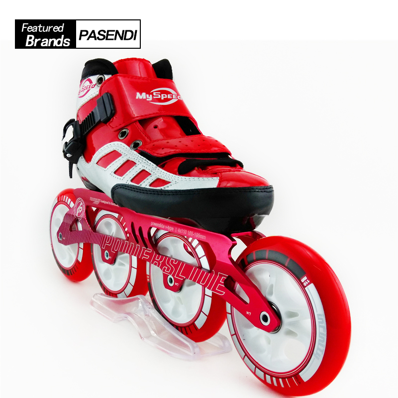 4 Ruote Pattini A Rotelle Per Adulti Professionale Pattini Inline da corsa Mens di Alta Qualità scarpe di Pattinaggio di Velocità Pattini Patins